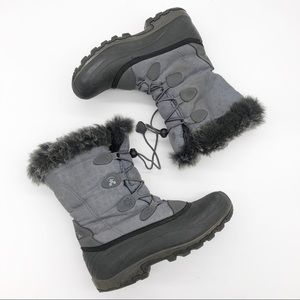 Kamik Momentum Thinsulate Faux Fur Lined Snow Boot